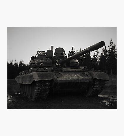 T55AM2 Tank Photographic Print