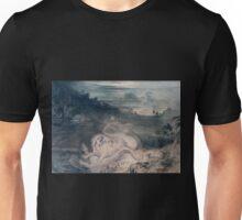 John Martin - The country of the Iguanodon Unisex T-Shirt