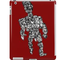 Naked Man Covered Up iPad Case/Skin
