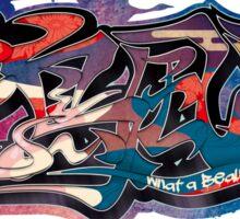 Japanese KANJI Graffiti KACHOUHUUGETSU Sticker