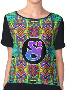 String Cheese Incident - Trippy Pattern 2 Chiffon Top
