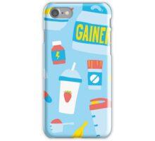 Sport food nutrition iPhone Case/Skin