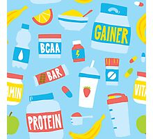 Sport food nutrition Photographic Print