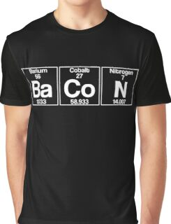 Ba-Co-N (bacon) - white Graphic T-Shirt