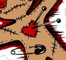 Voodoo Love Doll Sticker