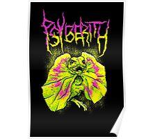 Dark Frilled Lizard - Psyberith Original Design Poster