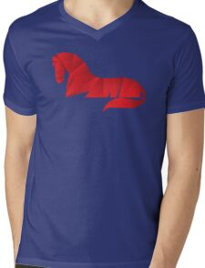 stalion Mens V-Neck T-Shirt