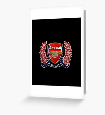 Arsenal Forward Greeting Card