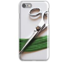 Cutting Hair iPhone Case/Skin
