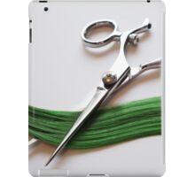 Cutting Hair iPad Case/Skin