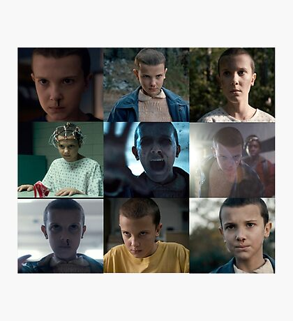 Eleven- Stranger Things Photographic Print