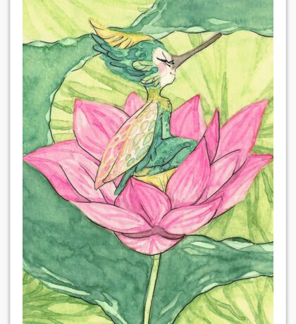 Lotus Fairy Sticker