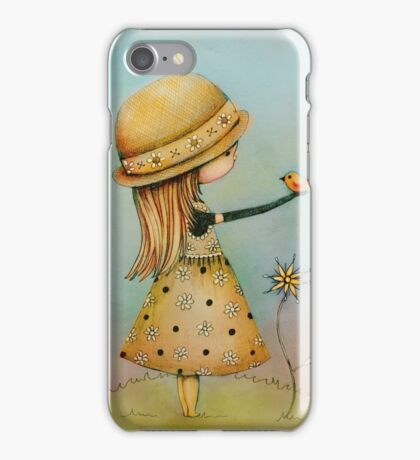 summer days are golden iPhone Case/Skin