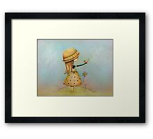 summer days are golden Framed Print