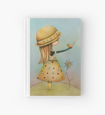summer days are golden Hardcover Journal