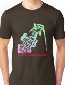 Pastel Hand Grenade — Standard Logo Unisex T-Shirt