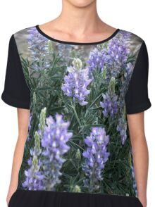 Cynosure: A Focal Point of Admiration Flower Photography Chiffon Top