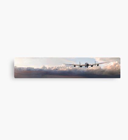 Lancaster - Main Force Outbound Canvas Print