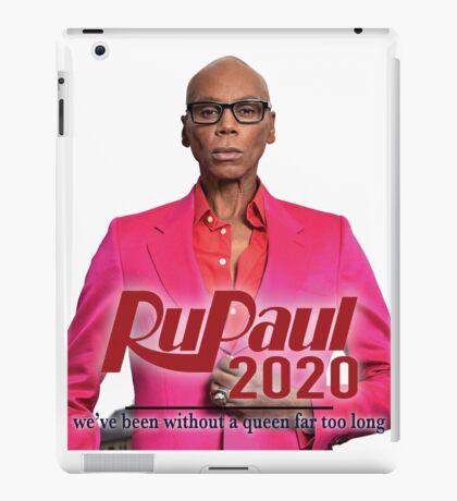 Rupaul for President! 2020! iPad Case/Skin