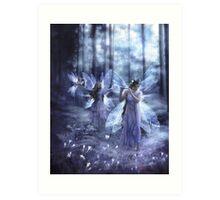 Night Fairy Song Art Print