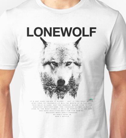 Lone Wolf! Unisex T-Shirt