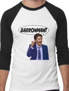 BARROWMAN!!! Men's Baseball ¾ T-Shirt