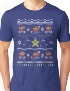 Mario Christmas Sweater Unisex T-Shirt