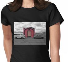 The Doors of a Desolate Home Womens Fitted T-Shirt