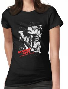 Sin Mario World Womens Fitted T-Shirt