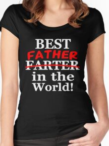 Best Father In The World Women's Fitted Scoop T-Shirt