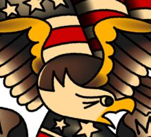 Made in USA American Patriotic Eagle  Sticker