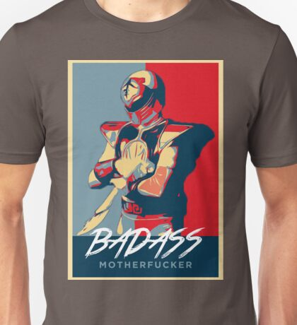 I'M A BADASS MOTHERF**KING POWER RANGER Unisex T-Shirt