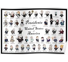 Presidents of the USA 2016 Update Poster