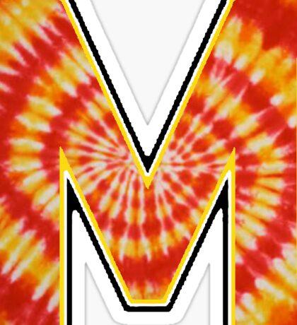 UMD Tie Dye Logo Sticker