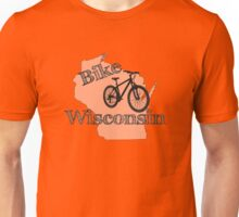 Bike Wisconsin State Unisex T-Shirt