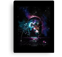 Time travelling machine Canvas Print