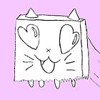 Paperbag Cat by funnygoat