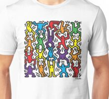 Keith Haring Stacked Unisex T-Shirt