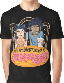 Pulp Fiction - The Oddventures Of Jules & Vince Graphic T-Shirt