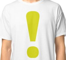 Bubsy - Yellow Exclamation Point Classic T-Shirt