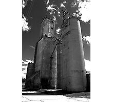 Farmers Elevator Morrison, IL Photographic Print