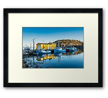 Northwest Cove Nova Scotia Framed Print