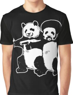 Pulp Fiction - Funny Pulp Pandas Graphic T-Shirt