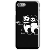 Pulp Fiction - Funny Pulp Pandas iPhone Case/Skin