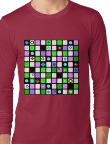 Colorful cubes .  Long Sleeve T-Shirt