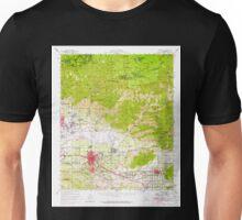 USGS TOPO Map California CA Redlands 298750 1954 62500 geo Unisex T-Shirt