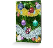 Christmas Tree 1 Greeting Card