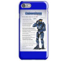 Caboosisms iPhone Case/Skin