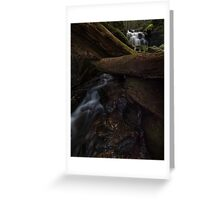 Strickland Falls Greeting Card