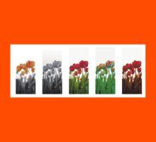 Dutch Tulips part 9 Kids Tee